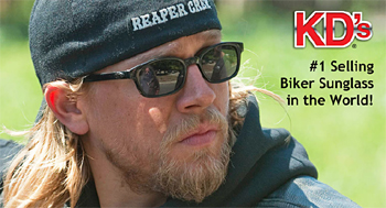 e4422ff858 Motorcycle Wisdom welcomes you to the SOA Eyewear used by Jax Teller of  Sons Of Anarchy. The Sons Of Anarchy Eyewear are called Original KD s by  Pacific ...